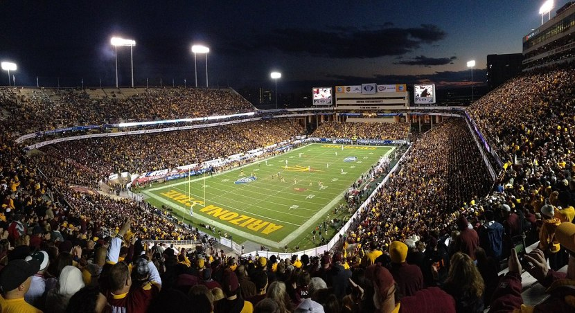Oregon At Arizona State (Sat. September 23rd, 2017) at Sun Devil Stadium, Tempe AZ ($265 ROUND TRIP FLIGHTS)