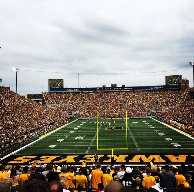 Penn State At Iowa (Sat. September 23rd, 2017 at Kinnick Stadium, Iowa City IA ($219 ROUND TRIP FLIGHTS)